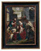 Anbetung des Jesuskindes durch die Heiligen Drei Könige