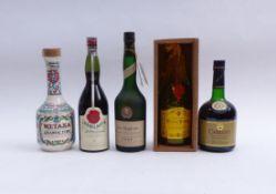 Fünf Flaschen