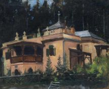 Franz Gustav Hochmann, Villa am Waldrand. 1907.