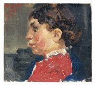 Max Feldbauer, Chiemgauer Mädchen. 1904.<