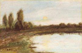Bartolomeo Bezzi, Landschaft. 1902.