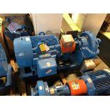 Baldor SuperE 150 HP Motor & Paco Pump
