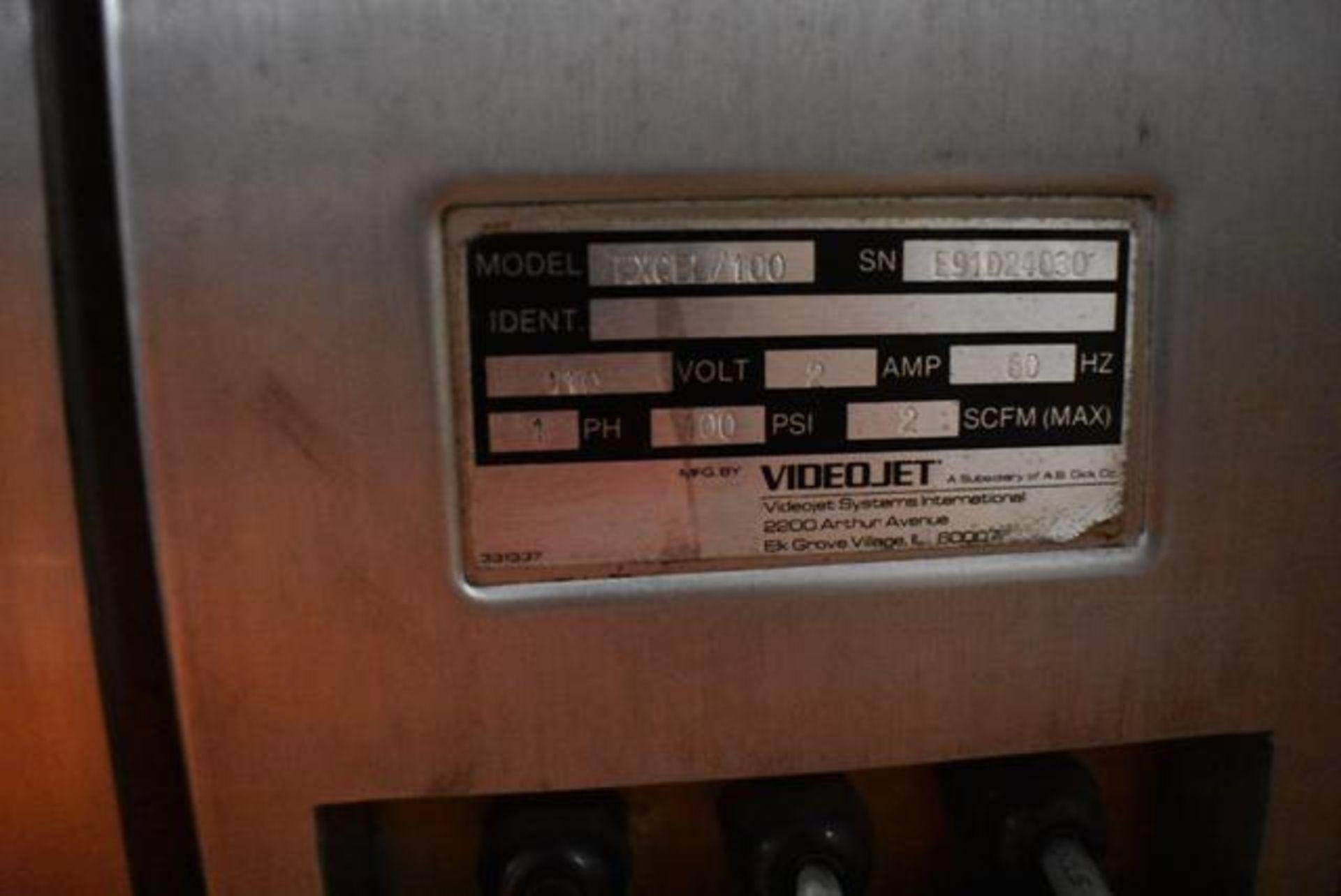 Lot 216 - VideoJet Excel Series 100 Includes Base, Loading Fee: $50