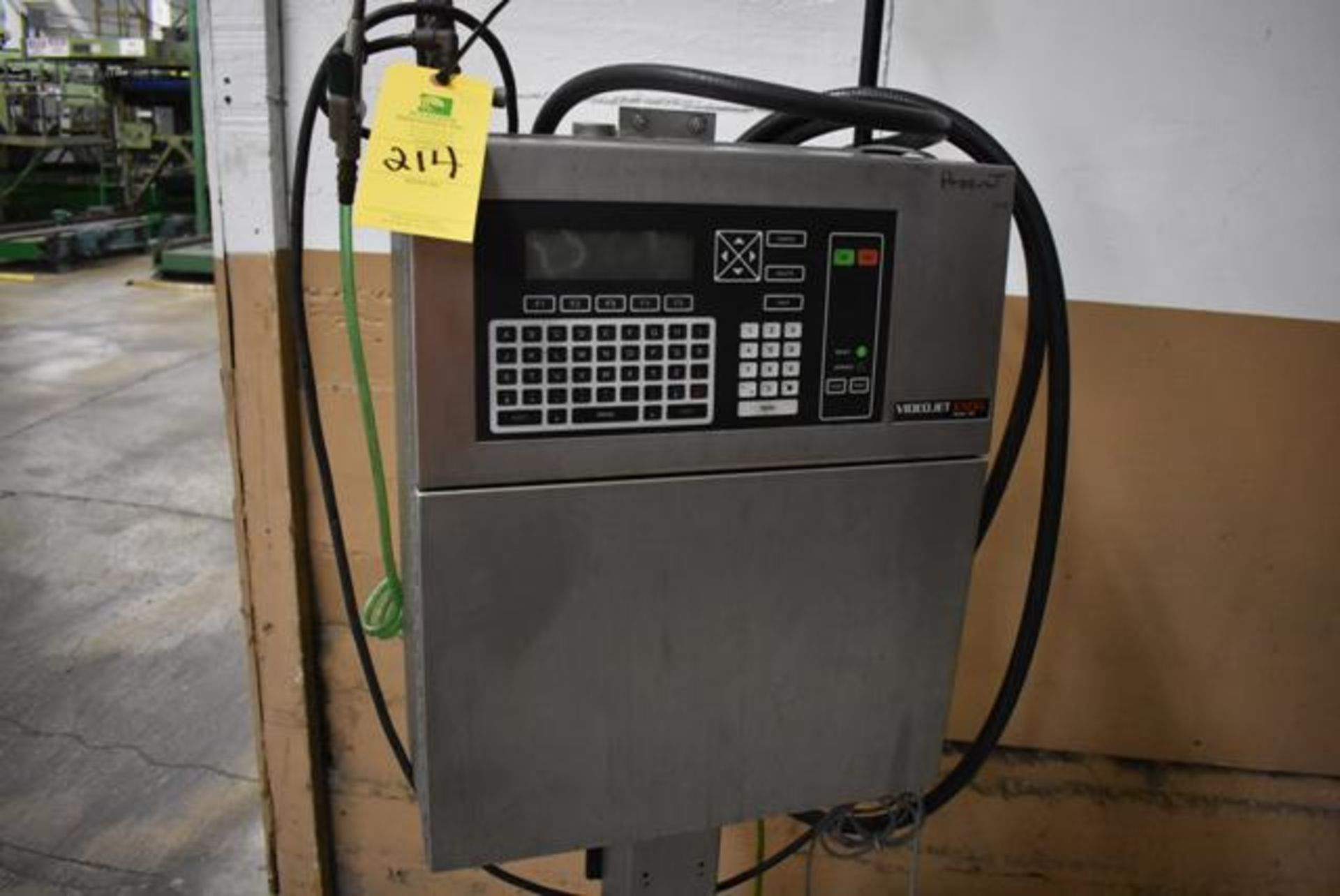Lot 214 - VideoJet Excel Series 100 Includes SS Stand, Loading Fee: $50