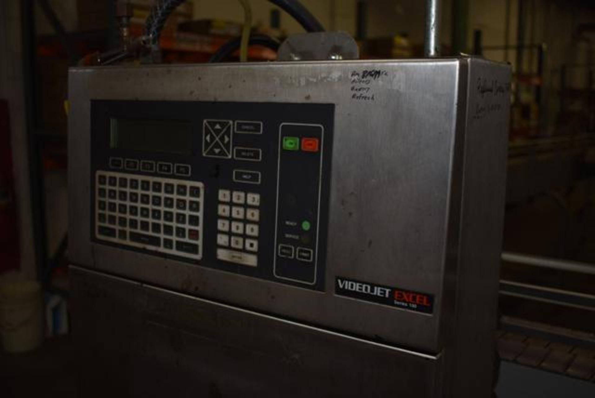 Lot 291 - ( Late Delivery Item Expected Availability Mid May) VideoJet Model #EXCEL 100, Loading Fee: $75