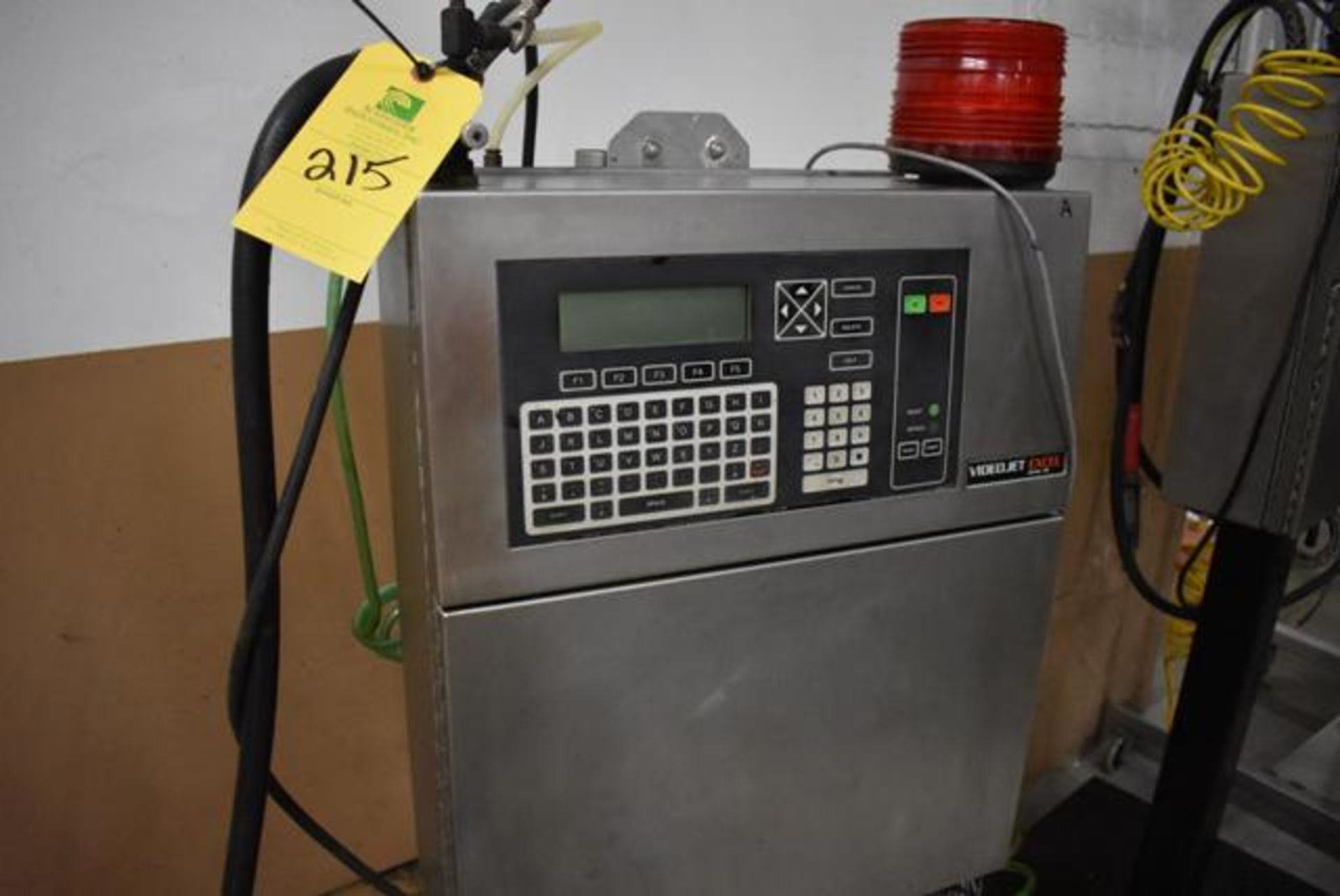 Lot 215 - VideoJet Excel Series 100 Includes SS Stand, Loading Fee: $50
