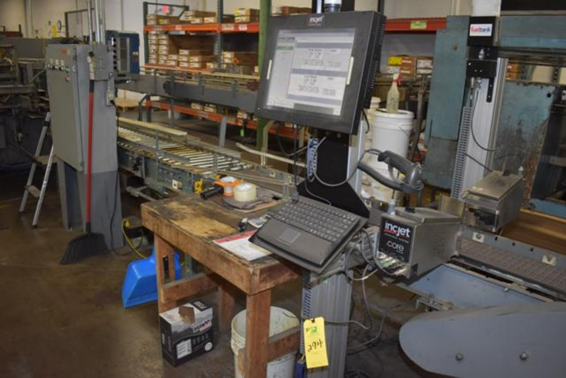 Lot 294 - ( Late Delivery Item Expected Availability Mid May) Ink-Jet Digital Imaging Case Coder & Bar Code Pr