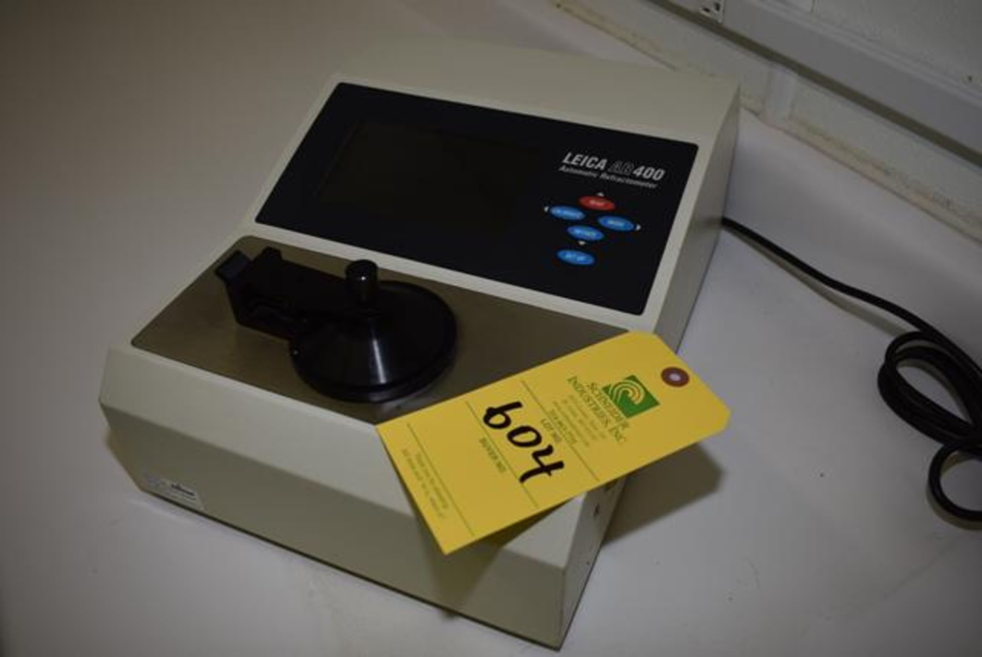 Lot 604 - Leica #AR400 Refractometer, Loading Fee: $5