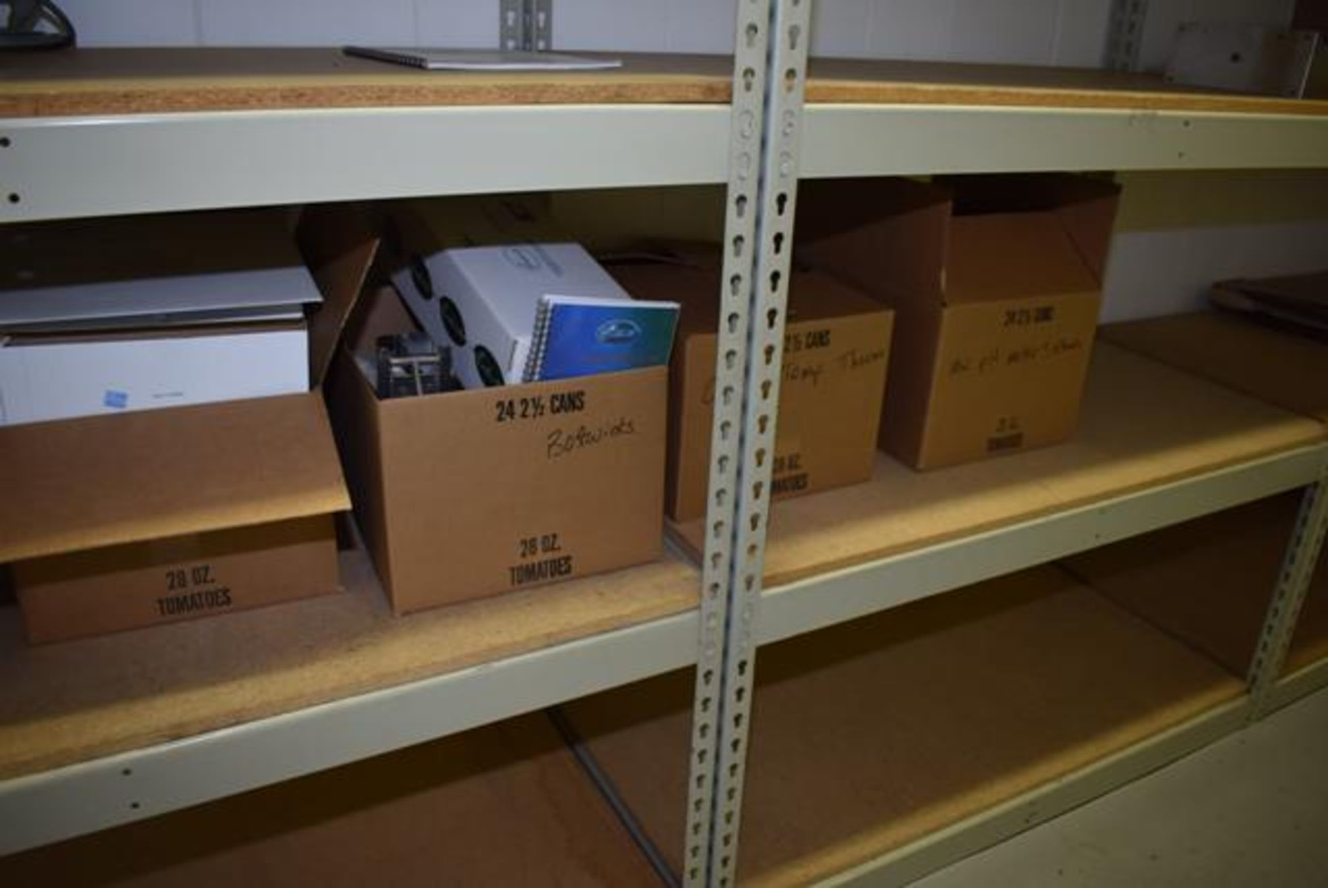 Lot 611 - Lab Shelf Contents - Meters, Charts, Loading Fee: $100