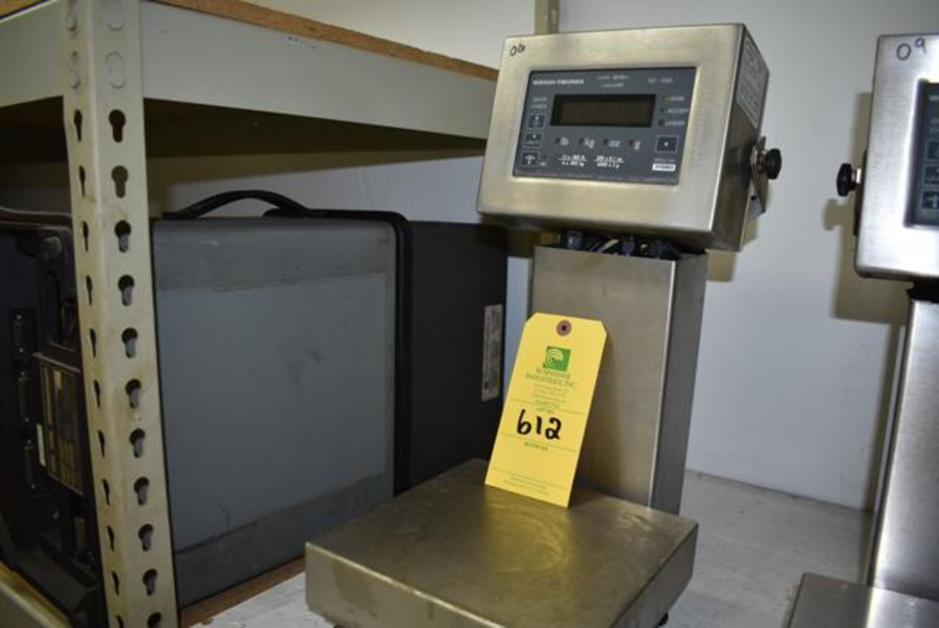 Lot 612 - Weigh-Tronix Model #3265 Lab Scale, Loading Fee: $10