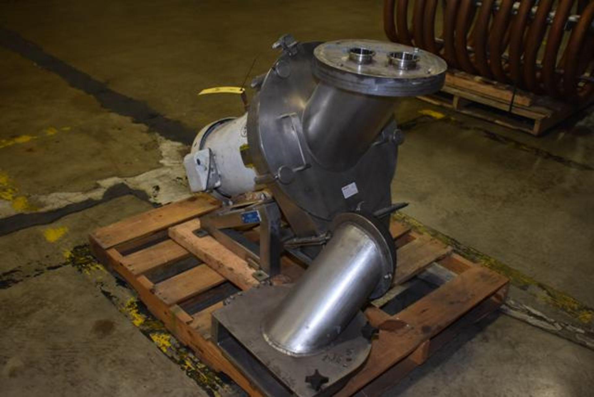 Lot 248 - Corenco Model M12A, S/N 1027 Disintegrator, 15 Hp Motor, Loading Fee: $50