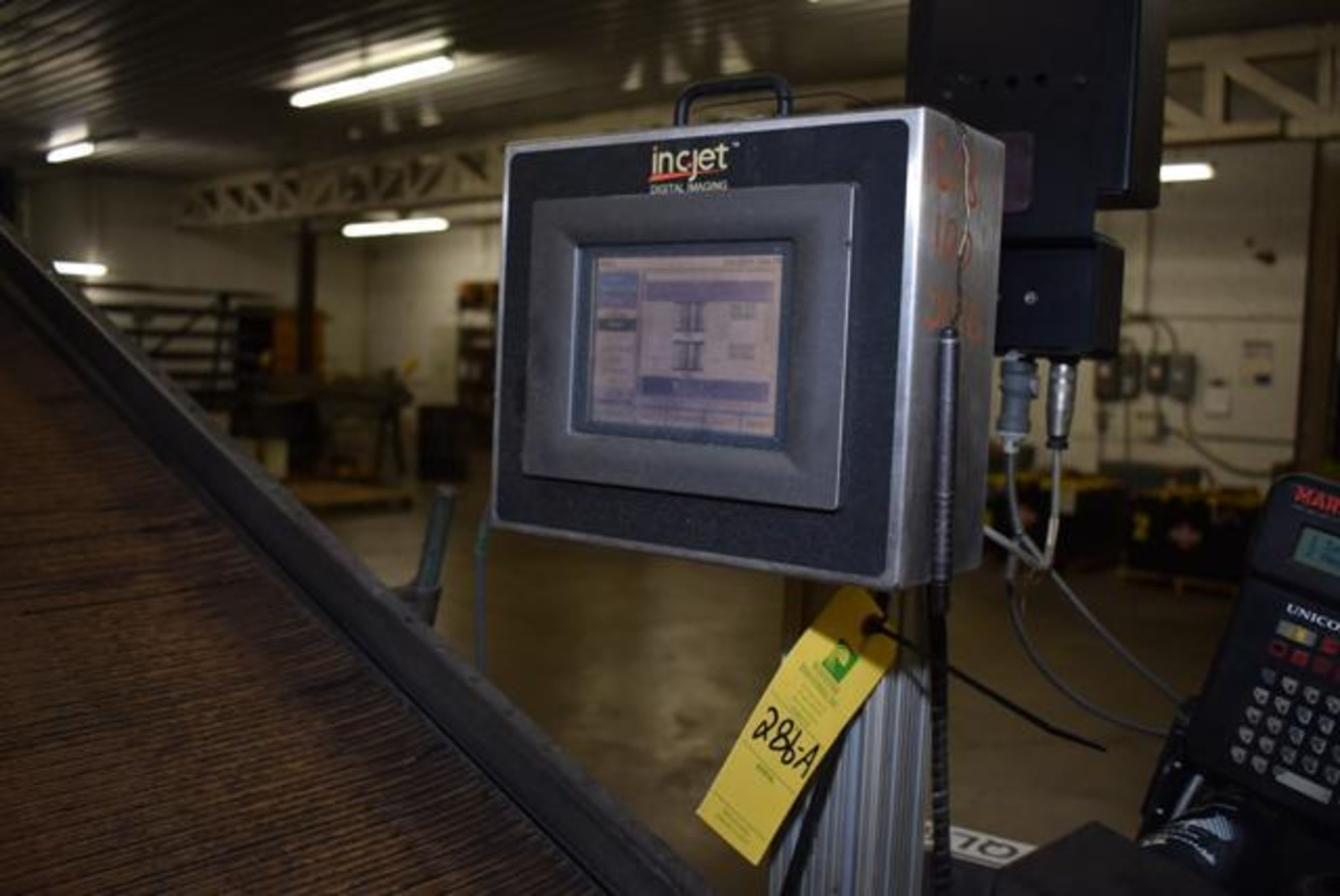 Lot 286A - ( Late Delivery Item Expected Availability Mid May) INC-JET Bar Code Printer, (2) Print Heads