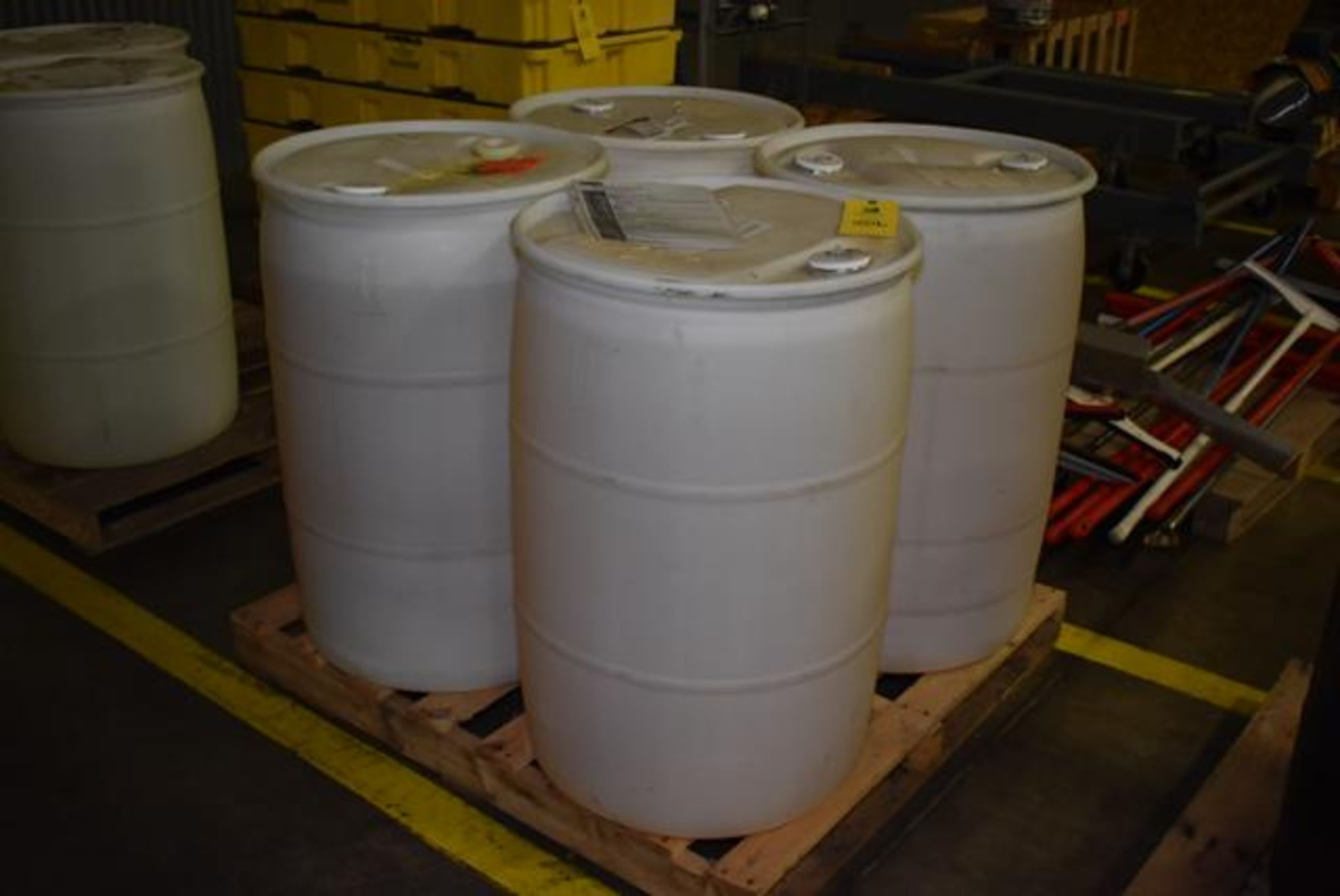 Lot 506 - Madison Chemical Aquagold 2, Liquid Detergent, (4) Drums, Loading Fee: $100