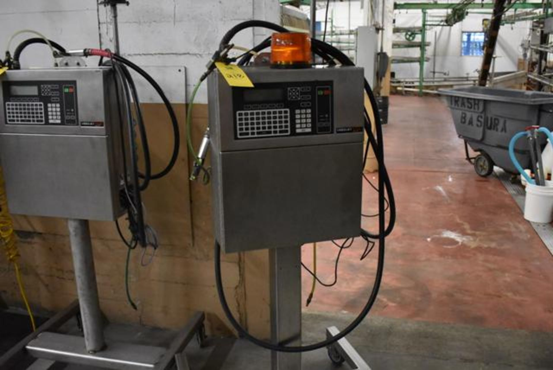 Lot 218 - VideoJet Excel Series 100 Includes SS Stand, Loading Fee: $50