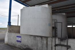 KBH Poly Tank\ID#11, Rated 6300 Gal. Capacity. LOADING FEE: $250