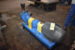 Viking Model #LS4124A-02 Positive Displacement Pump, 20 HP Motor. LOADING FEE: $100