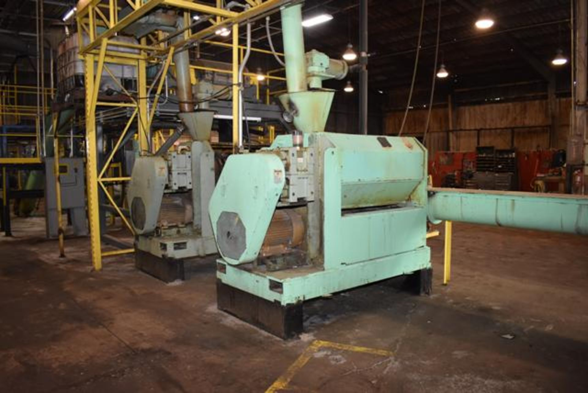 Lot 21 - Insta-Pro Model 4500 Press, Includes Feeder and Crammer, 50 HP Motor. LOADING FEE: $3000