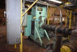 Insta-Pro Model #9400 Extruder, Rated 3 Tons/HR Soybeans, 350 HP Motor, Hopper. LOADING FEE: $3500