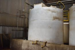 KBH Poly Tank\ID#6, Rated 6300 Gal. Capacity. LOADING FEE: $250