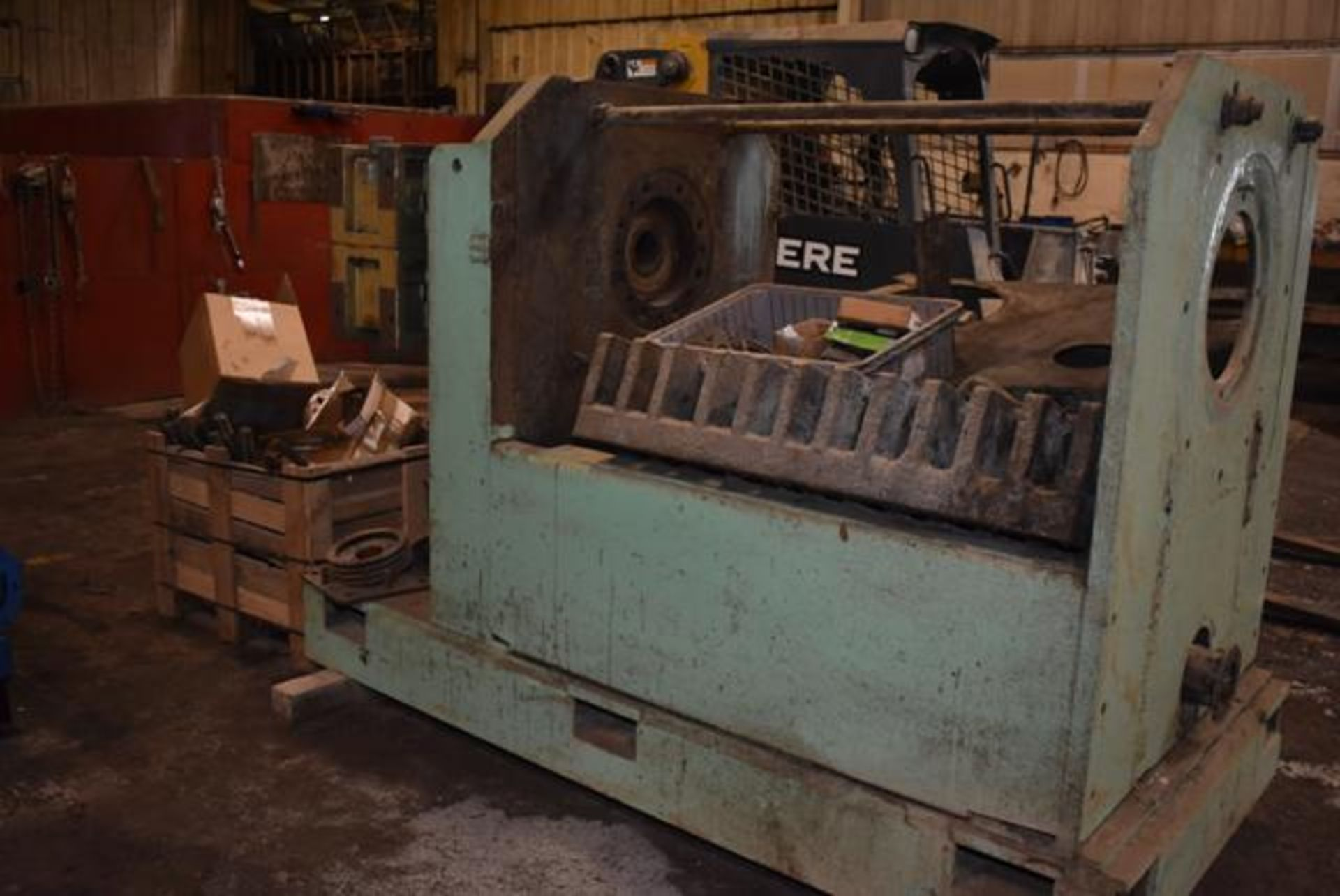 Lot 22 - Insta-Pro Model #4500 Press-Disassembled, Includes New Feeder, Note - Needs Motor. LOADING FEE: $750