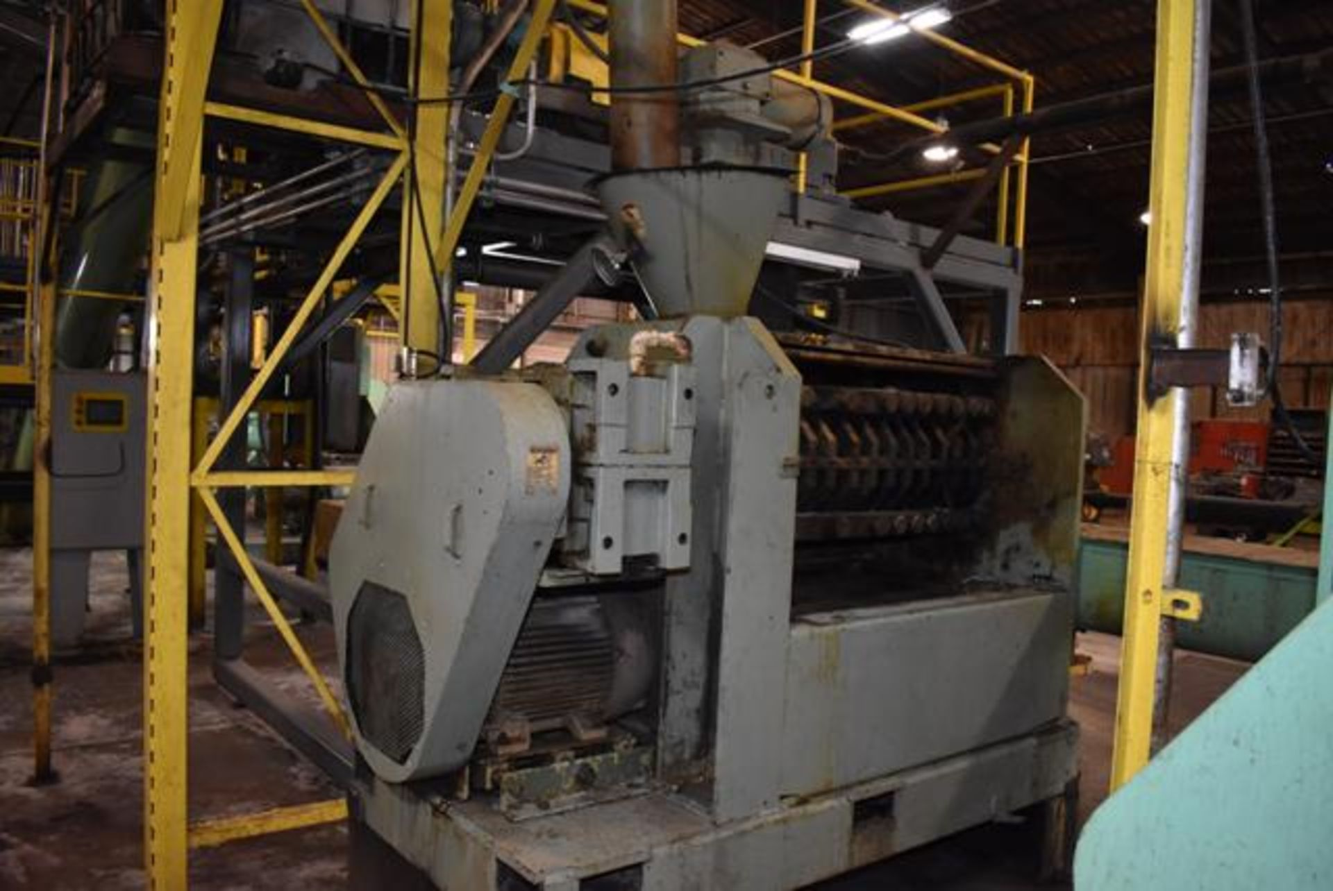 Lot 20 - Insta-Pro Model 4500 Press, Includes Feeder and Crammer, 50 HP Motor. LOADING FEE: $3000