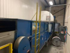 (Located in Hope, MN) Wal-Dor Vers-a-Belt Multi-Purpose Dryer Model 16-36 S/N 147-02 460 Volts, 3 Ph