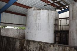 KBH Poly Tank\ID#8, Rated 6300 Gal. Capacity. LOADING FEE: $250
