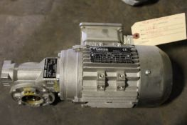 Lenze Motor, Model# mderaxx071-32j, Serial# 10091536, Item# mtllenze1536, Located in: