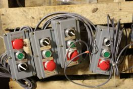 Allen-Bradley Start Stop Assembly, 4 total, Located in: Gainsville, GA