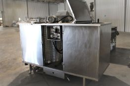 "Dual Mixing Tank, 40"" Diameter x 46"" tall, Item# mtldualmixtk-1, Located in: Gainsville, GA"