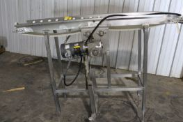 """Conveyor System, 76"""" long x 12"""" wide, Model# SS-HMQ-821-40-H1-56-20, Item# ffconvesys-2, Located in:"""