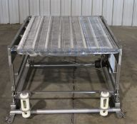 """Inline Conveyor 42'' wide x 57"""" long, hydralics- removed from production; Part of complete 180"""