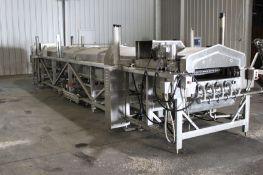 "Stein Thermal Fin Fryer, Model# TFF-IV-3428, Serial# 140, 34"" wide x 28' long, Item# mtlstetff140,"