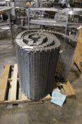 NEW JBT Spiral Belting, M9 Mesh, Model# GCM76-08, 25 Feet Long, Item# mtljbtspbelt25, Located in: