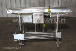 """Conveyor System, 76"""" long x 12"""" wide, Electric Drive, Item# ffconvesys-1, Located in:"""