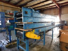 """Hytrol Conveyor Line: 5 sections, Lenghts for each section are: 131"""" , 136"""", 101"""", 119"""", and 137"""","""