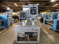 Gaston County Sample Dye Machine: Serial # 1600496, 2 hp, 220 volts, 2.0 Amps, Rigging Fee $35