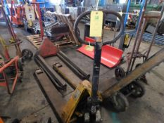 Pallet Jack, No ID Tag, Rigging Fee For This Item Is $25