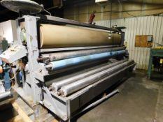 "Crompton & Knowles 2 Roll Pad Machine, MFG # 76, serial # 6290, Model: 10TCP134, Length: 132"""