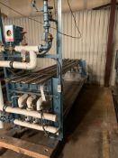 """Custom Made 68"""" Long Continuous Steamer. Four Pipes with Temperature Control, Rigging Fee: $100"""