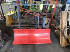 Hydraulic Plow (No Tag), Rigging Fee For This Item Is $25
