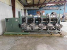 Murata Machinery Winding Machine, Model# 7R2, Serial# 89SX469040-01, 380V, 50 Hz, Working Width
