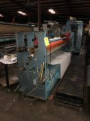 """Inspection Machine, Working Width 150"""", Roll Up, Compensator, and Inspection, Rigging Fee $200"""