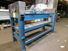 """Ladis Coater Machine: 1 trouff, Working Width 78"""", trouff is 58"""", excellent condition, Rigging"""