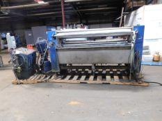"M-TEC D41751 Steam Finishing Machine. 94"" Wide. 5HP. 220/460 Volts, Rigging Fee: $250"