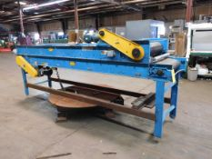 """Hytrol Conveyor Line: 2 Sections, Lenghts are: 150"""" & 138"""", Overall Width: 30"""" , Belt Width: 24"""","""
