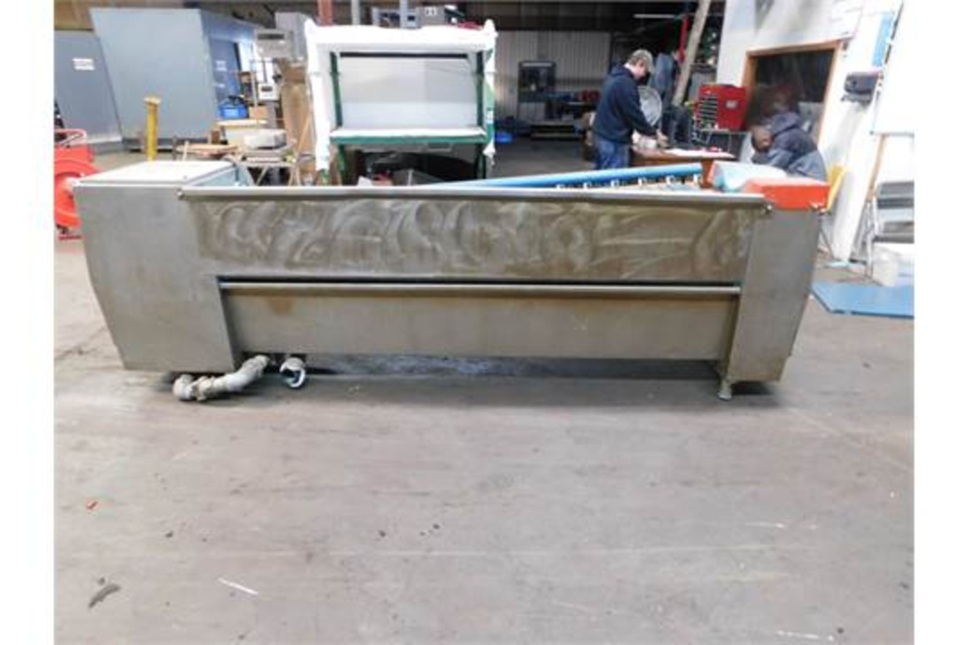 """Lot 44 - Stork screen washing, Working Width 67 3/4"""", Screen washer for Rotary screens, Good Condition,"""