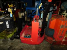 Red Pallet Jack, Rigging Fee For This Item Is $25