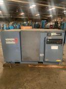Atlas Capco Compresor Model GA 307 Pack. Serial 712 238. Oil serial 3355. Motor serial 50149901