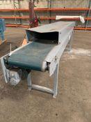 """Allen Bradley Conveyers Belt motorized 20F total (dimension W22""""X36"""" ), Rigging Fee: $25"""